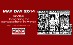 YUSA Celebrate May Day at Vari Hall on Thursday