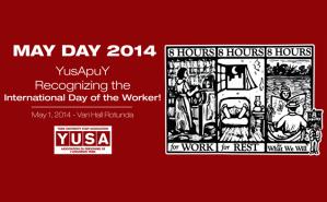 YUSA Celebrate May Day at Vari Hall on Thursday