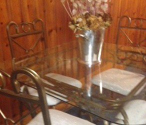 Dinette Set, Table and Four Chairs – $250 OBO