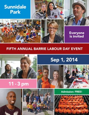 Come Out for the 2014 CCU Labour Day Event