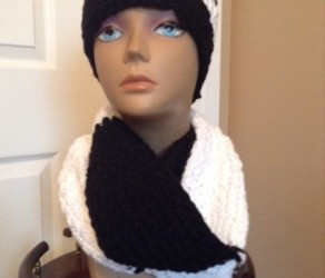 Headband, Hat and Scarf Sets, $15 each