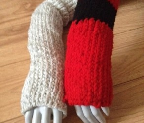 Fingerless Gloves and Mittens, $10 or $15