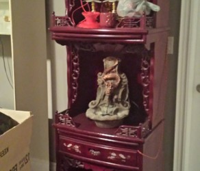 Rosewood Solid Wood Furniture Stand – $250 OBO