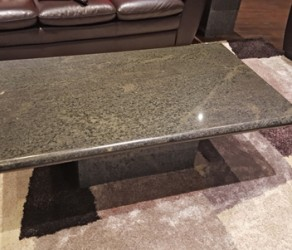 Granite Set of Coffee and End Tables