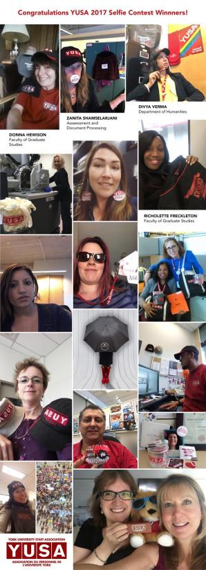 Congratulations YUSA 2017 Selfie Contest Winnners!