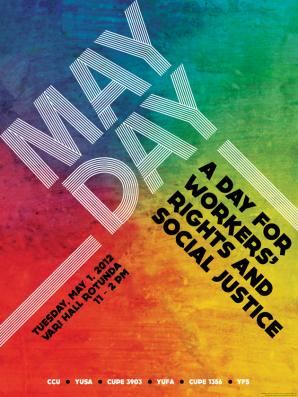 YUSA and CCU Celebrate May Day 2012 at York University