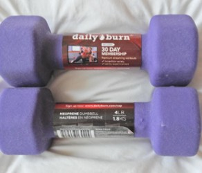 2 to 4 Lb Weights – $10