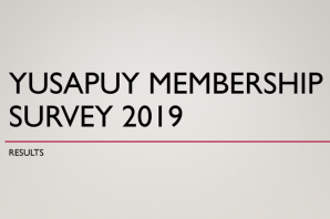 2019 YUSAPUY Membership Survey Results