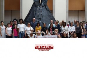 Fall 2020 YUSAPUY Newsletter
