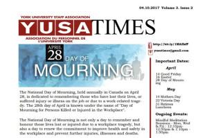 April 2017 YUSAPUY Newsletter