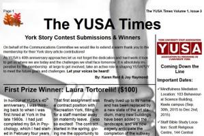 Fall 2015 YUSAPUY Newsletter