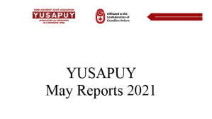 YUSAPUY May 2021 Reports