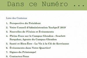 yusa-newsletter-spring-2019-francais