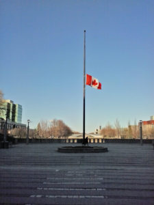 flag-half-mast-at-york-university-canada