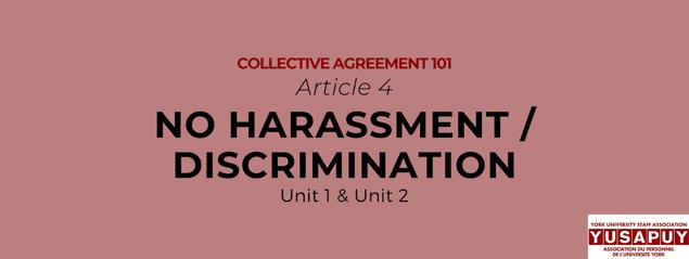 No-Harassment YUSAPUY