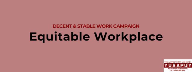 YUSAPUY-Decent-Work-Equitable-Workplace-York-University